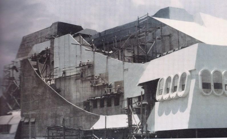 Construcción Teatro Nacional Tercera Etapa - La construcción del Teatro Nacional