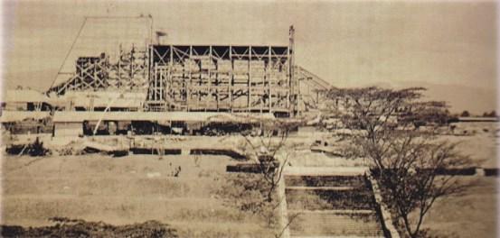 Construcción del Teatro Nacional - La construcción del Teatro Nacional