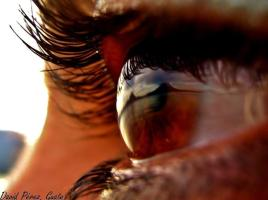 El lago de Atitlan en tu mirada - foto por David Pérez