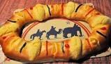 Preparación de la Rosca de Reyes