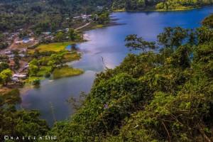 Laguna Calderas en las faldas del volcán de Pacaya foto por Waseem Syed 300x200 - Parque Calderas en la falda del volcán de Pacaya