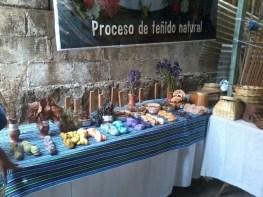 diferentes flores y plantas son utiliadas como tintes naturales - Guía Turística - San Juan La Laguna, Sololá