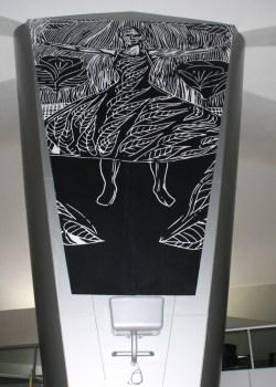 Cony Secaira Perfiles Personales 214x300 - Las Obras de Arte del Aeropuerto La Aurora