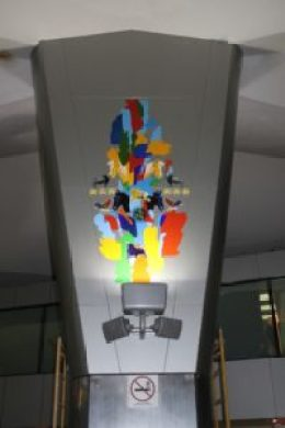 Marlov Barrios Emblemática 200x300 - Las Obras de Arte del Aeropuerto La Aurora
