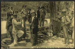 Recuerdos - Venta de guitarras huehuetecas - Feria de Jocotenango - alrededor de 1910