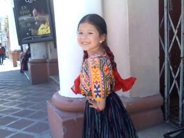 Traje indígena de Quetzaltenango - foto por Arely Palacios Mendez