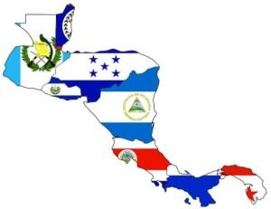 Mapa actual de Centroamérica.