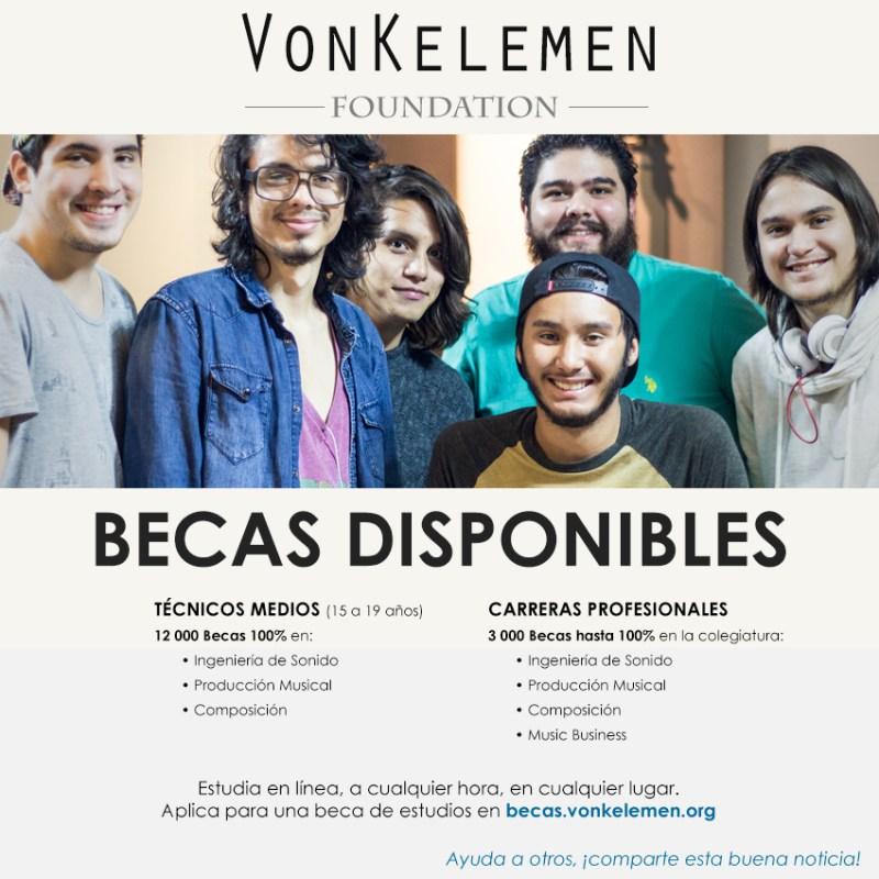 VKF FB2 - 15,000 becas, 100% cubierto por Fundación VonKelemen