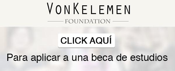 becas click aqui - 15,000 becas, 100% cubierto por Fundación VonKelemen