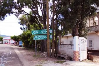 señalización aldea la campana