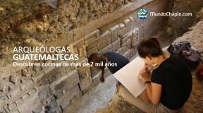 Arqueólogas guatemaltecas descubren cocinas de más de 2 mil años