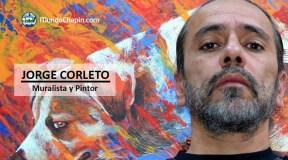 Jorge Corleto, muralista y pintor