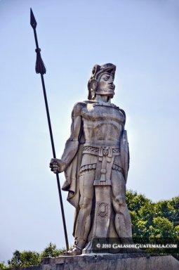 Monumento Tecún Umán Maynor Marino Mijangos - Resumen de la información de Guatemala
