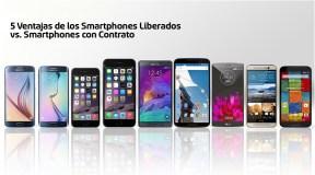 5 Ventajas de los Smartphones Liberados vs. Smartphones con Contrato