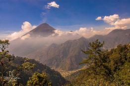 Vista desde el mirador de Zunil. camino a las aguas Georginas Quetzaltenango foto por Dany Lopez - Galeria de Fotos de Guatemala por Dany Lopez