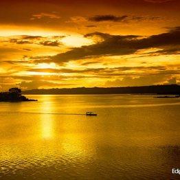 Lago Petén Itza, Petén - foto por Edgar Monzon