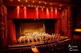 Orquestra Sinfonica Nacional en el Centro Cultural Miguel Ángel Asturias - foto por Acuarela Chapina