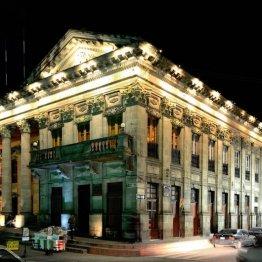 Palacio Municipal de la ciudad de Quetzaltenango - foto por Hugo Altán