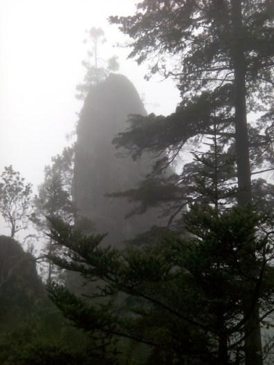 las curiosas formas y cortes de la montan cc 83a - Guía Turística -  Sendero Ecológico La Maceta