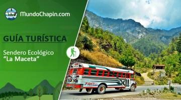 Guía Turística –  Sendero Ecológico La Maceta
