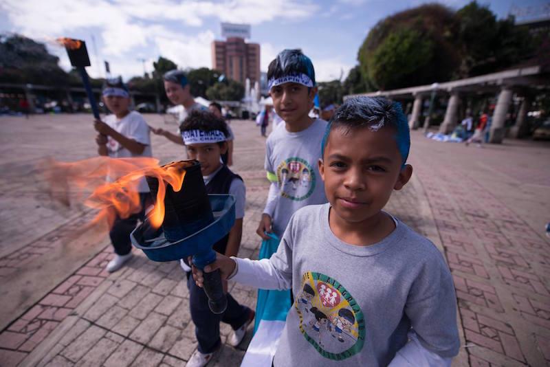 celebrando la independencia de nuestro pais foto por santiago billy prem - Los feriados y asuetos en Guatemala