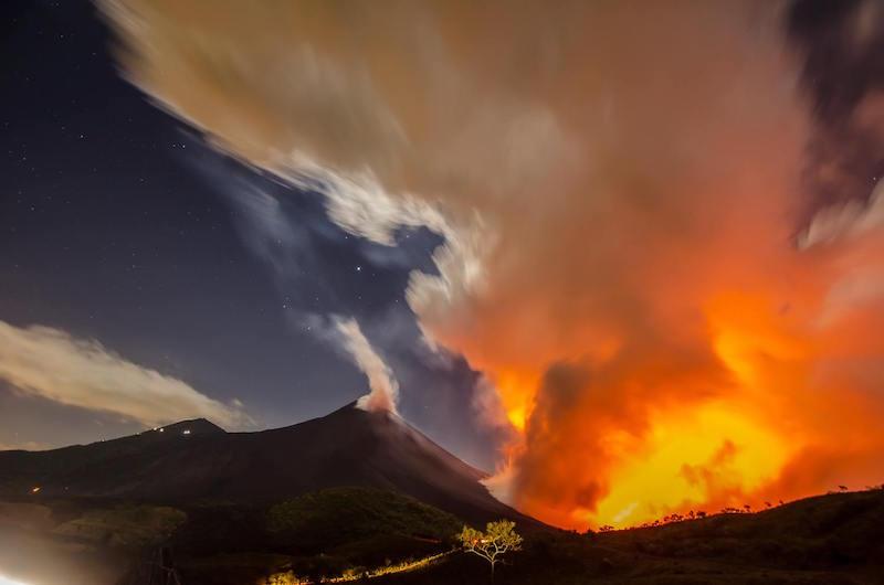 erupcion del volcan de pacaya foto por hector lopez dynamics - Los 4 volcanes activos en Guatemala