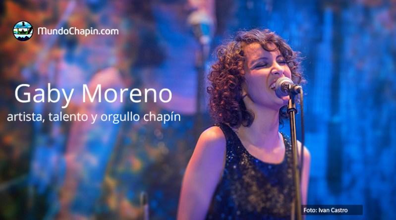 Gaby Moreno: artista y orgullo chapín