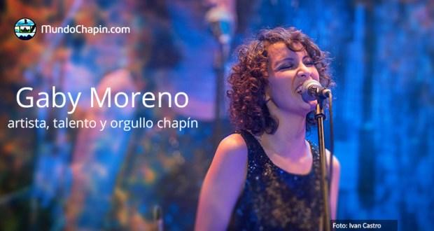 gaby moreno artista talento y orgullo chapin mundochapin 2 - Gaby Moreno: artista y orgullo chapín