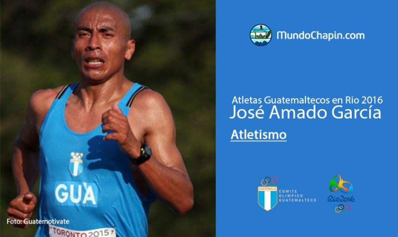 jose amado garcia rio2016 mundochapin - Los 21 atletas guatemaltecos en Río 2016