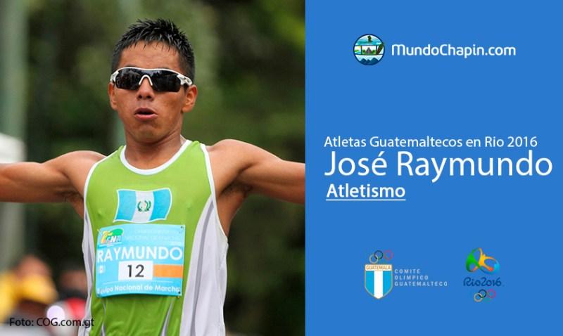 jose raymundo rio2016 mundochapin - Los 21 atletas guatemaltecos en Río 2016