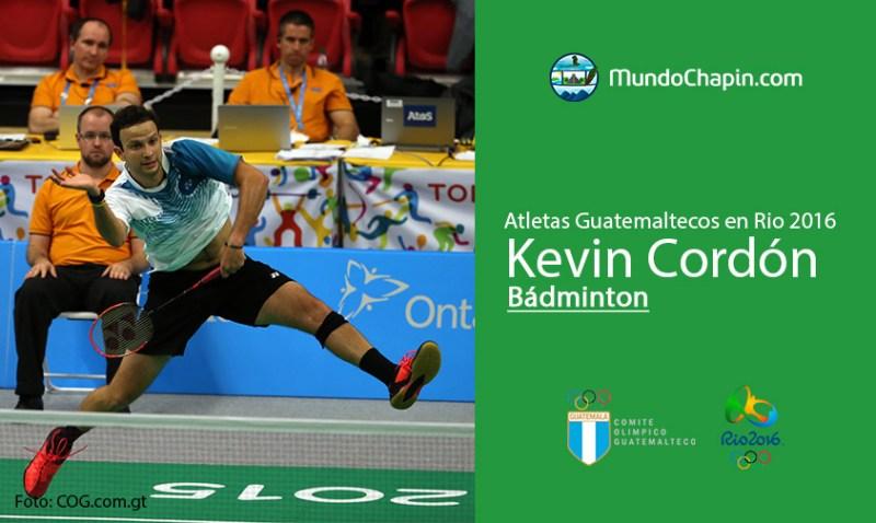 kevin cordon rio2016 2 mundochapin - Los 21 atletas guatemaltecos en Río 2016