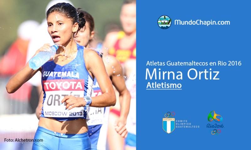 mirna ortiz rio2016 mundochapin - Los 21 atletas guatemaltecos en Río 2016