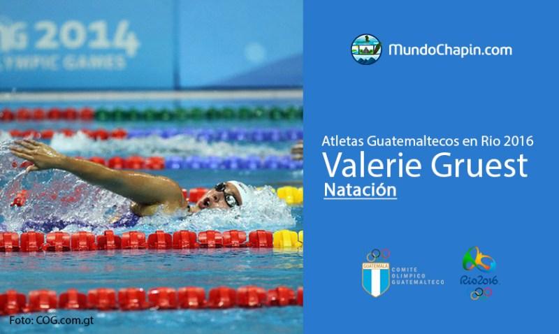 valerie gruest rio2016 mundochapin - Los 21 atletas guatemaltecos en Río 2016