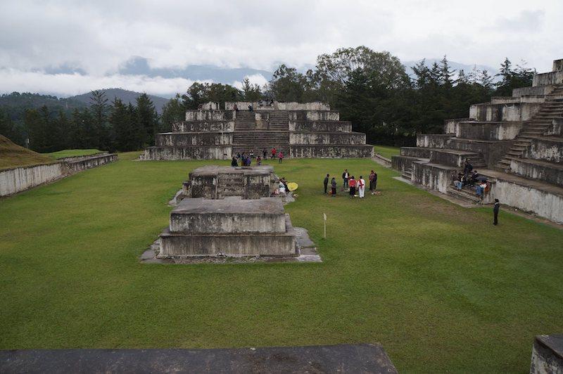 zaculeu huehuetenango foto por obed garcia - 8 sitios arqueológicos mayas para visitar en Guatemala