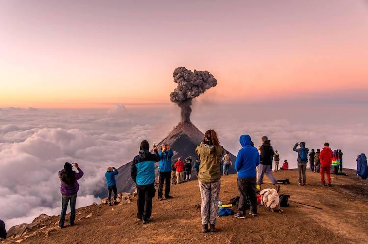 volcan de fuego foto por jose carlos diaz - Los 5 volcanes más altos en Guatemala