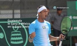 Guatemala Gana a México en la Copa Davis