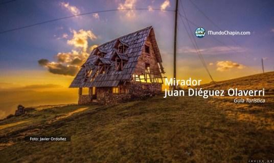 Guía Turística al Mirador Juan Diéguez Olaverri
