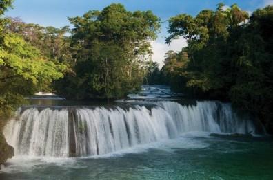 waterfall - Expedición por el parque recreativo Las Conchas