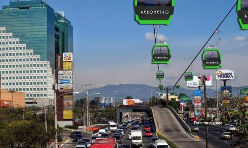 Permisos otorgados para Aerometro en la ciudad de Guatemala