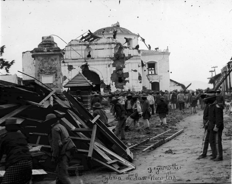 sanperfecto1902 01 - Principales Terremotos del Siglo XX en Guatemala