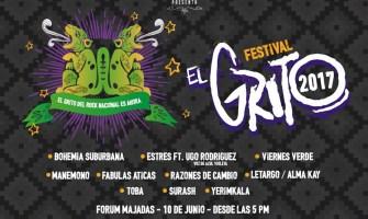 El Grito, festival que volverá a unir las bandas del rock guatemalteco