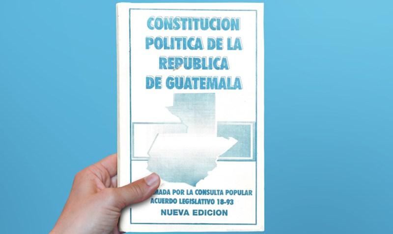 División de la Constitución Política de la República