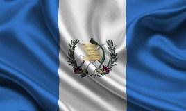 La bandera que identifica a los Guatemaltecos