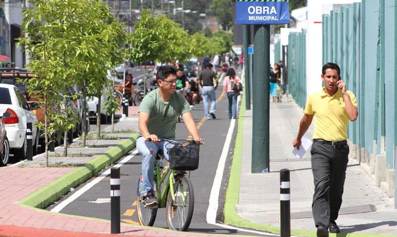 Guatemala planea para 200 km de ciclovía en la capital