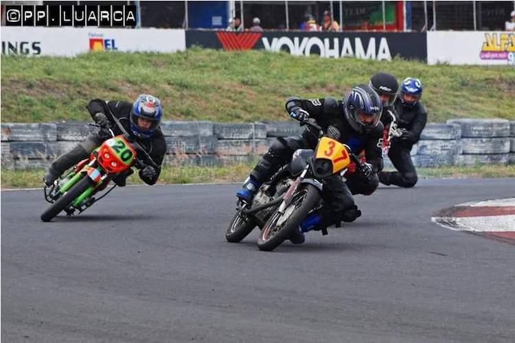13912611 10209602845844423 204464815126614867 n - Ni dos accidentes detuvieron al campeón de moto velocidad