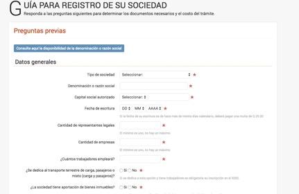 sa 2 - Cómo realizar una Constitución de Sociedad Anónima en Guatemala