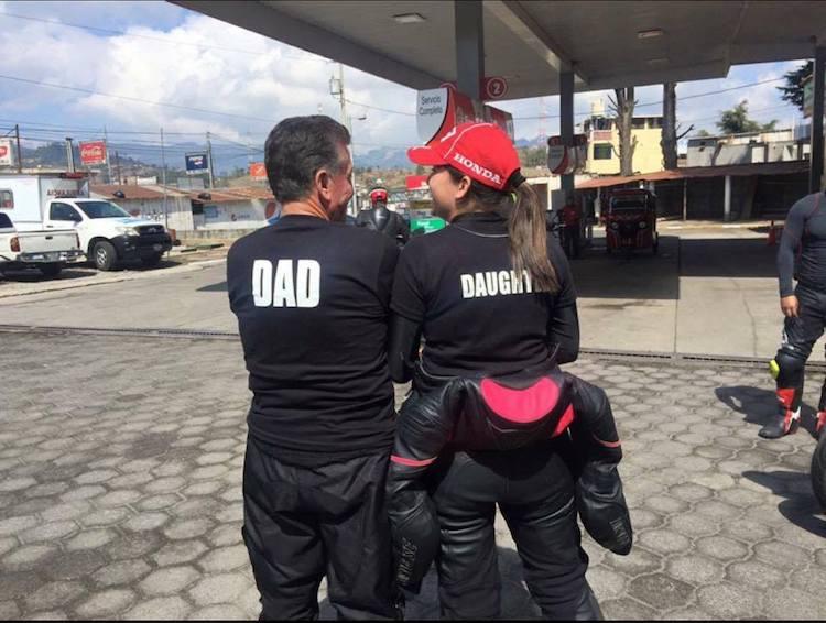 "foto 3 rocio aguilar - Perla Aguilar: ""Mi meta es representar a Guatemala en motociclismo"""