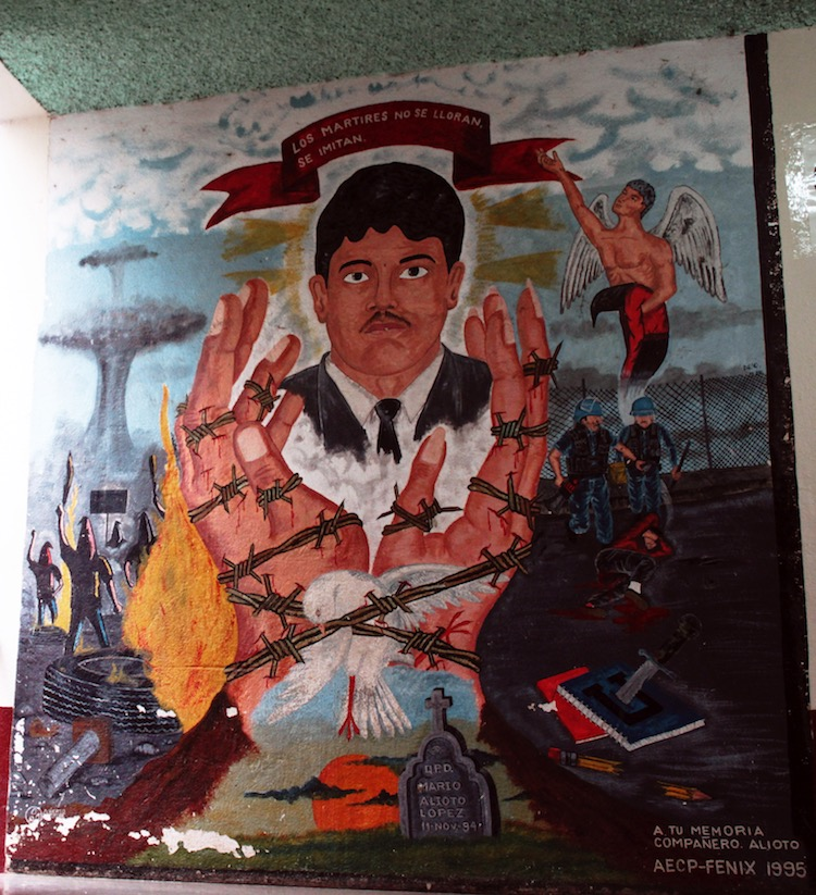 3 facultad de derecho s5 priime zion - Murales que cuentan la historia del país