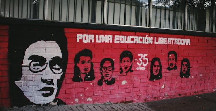 7 estudiantes martires - Murales que cuentan la historia del país