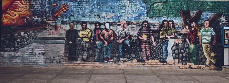 9 ciencia politica 768x280 - Murales que cuentan la historia del país